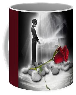 A Rose For Whitney - Fantasy Art By Giada Rossi Coffee Mug