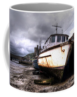 Coffee Mug featuring the photograph A Rough Ride by Doc Braham