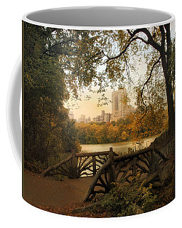 A Rustic City View Coffee Mug