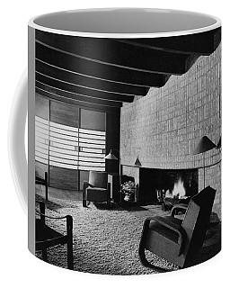 A Rustic Living Room Coffee Mug
