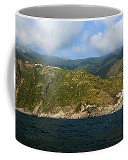 A Sea View Of Manarola Coffee Mug