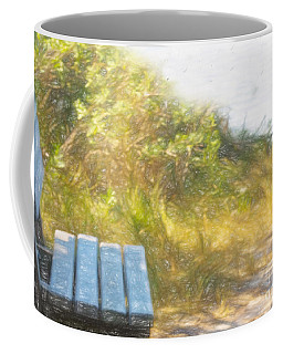 A Seat By The Ocean Coffee Mug