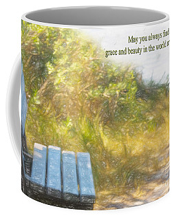 A Seat By The Ocean To Observe God's Beauty Coffee Mug