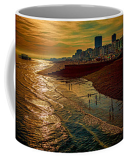 Coffee Mug featuring the photograph A September Evening In Brighton by Chris Lord