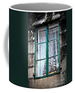 A Ship In The Green Window Coffee Mug