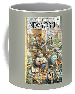 A Shopkeeper Sells Odd Items Coffee Mug