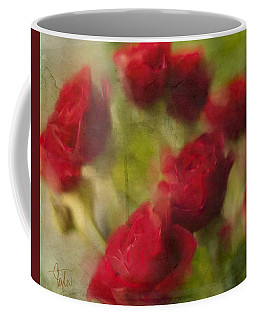 A Shower Of Roses Coffee Mug by Colleen Taylor