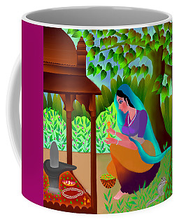 A Silent Prayer In Solitude Coffee Mug
