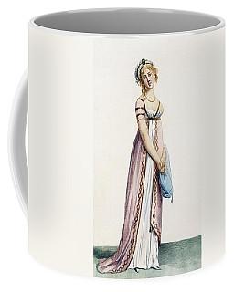 A Simply Designed Ladys Ball Dress Coffee Mug