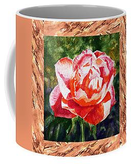 A Single Rose The Morning Beauty Coffee Mug