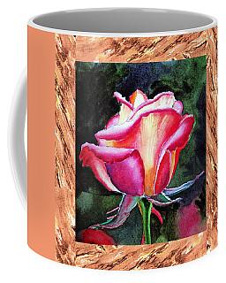 A Single Rose The Silky Light Coffee Mug