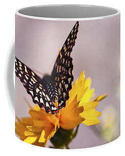 A Sip Of Coreopsis Coffee Mug