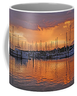 Coffee Mug featuring the photograph A Sky Full Of Wonder - Florida Sunset by HH Photography of Florida