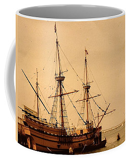 A Small Old Clipper Ship Coffee Mug