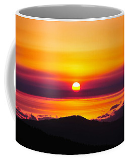 A Smoky Sunrise Coffee Mug