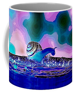 A Snails Face Coffee Mug