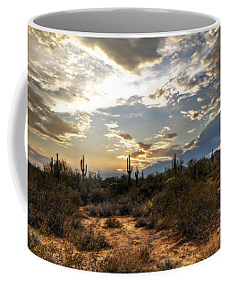 A Sonoran Desert Sunset  Coffee Mug