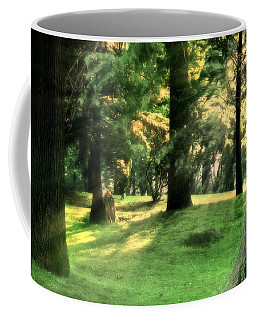 Spring Afternoon In Brookdale Park Coffee Mug