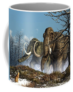 A Storm Of Mammoths  Coffee Mug