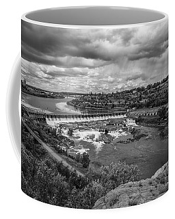 A Stormy Afternoon In Great Falls Montana Coffee Mug
