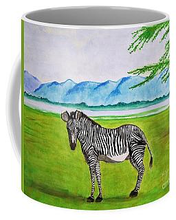 A Striped Chap Coffee Mug