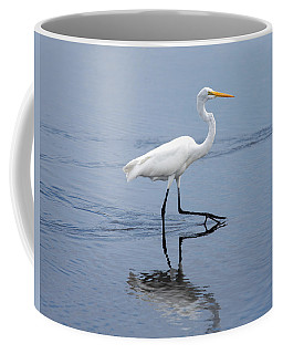 Coffee Mug featuring the photograph A Stroll In The Marsh by John M Bailey