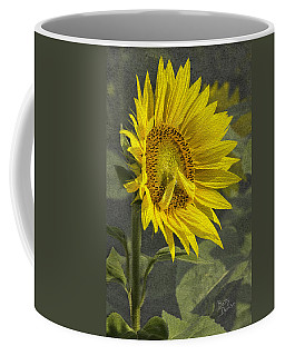 Coffee Mug featuring the photograph A Sunflower's Prayer by Betty Denise
