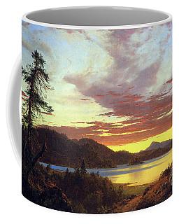 A Sunset By Frederick Edwin Church Coffee Mug