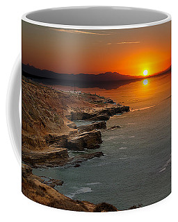 A Sunset Coffee Mug