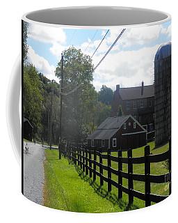 A Sussex New Jersey Farm Coffee Mug by Carol Wisniewski