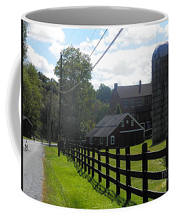 Coffee Mug featuring the photograph A Sussex New Jersey Farm by Carol Wisniewski