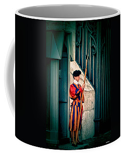A Swiss Guard Coffee Mug