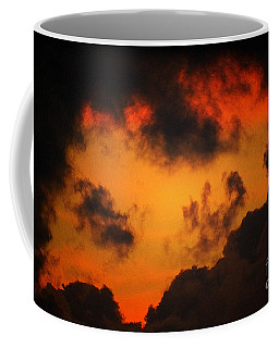A Textured Morning Coffee Mug