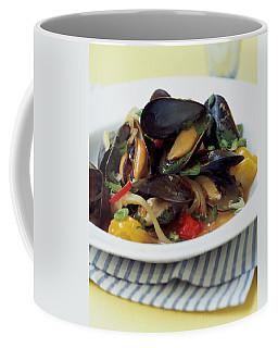 A Thai Dish Of Mussels And Papaya Coffee Mug