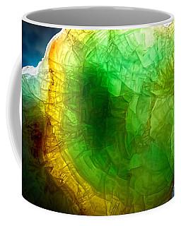 A Thin Slice Of Rock Coffee Mug by John Haldane