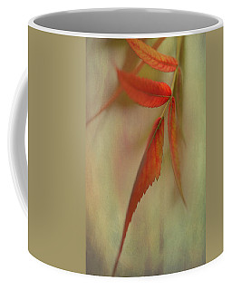 Coffee Mug featuring the photograph A Touch Of Autumn by Annie Snel