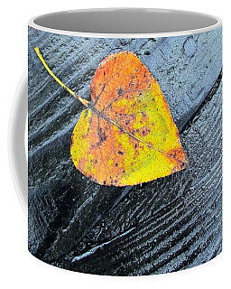 Coffee Mug featuring the photograph A Touch Of Autumn by I'ina Van Lawick