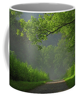 A Touch Of Green Coffee Mug