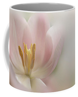 Coffee Mug featuring the photograph A Touch Of Pink by Annie Snel