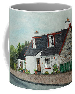 Coffee Mug featuring the painting A Touch Of Scotland by Betty-Anne McDonald