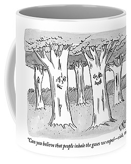 A Tree In A Forest Addresses Another Tree Coffee Mug