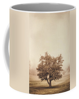 A Tree In The Fog Coffee Mug