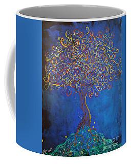A Tree Of Orbs Glows Coffee Mug