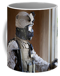 A U.s. Marine Participates In Urban Coffee Mug