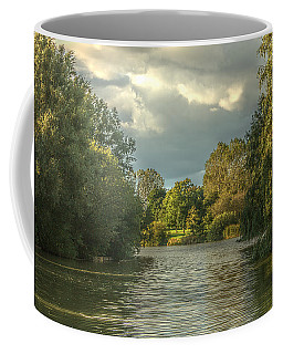 A View Down The Lake Coffee Mug