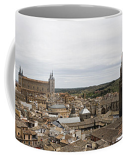 Coffee Mug featuring the photograph A View From The Iglesia De San Ildefonso  by Lorraine Devon Wilke