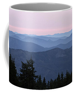 A View From Timberline Coffee Mug