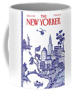 A View Of New York City Coffee Mug