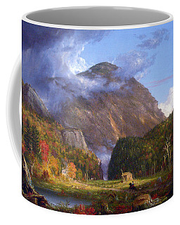 A View Of The Mountain Pass Called The Notch Of The White Mountans By Thomas Cole Coffee Mug