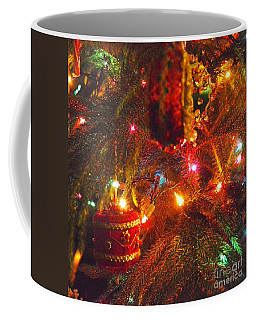 Coffee Mug featuring the photograph A Vintage Christmas  by Laurie Lundquist